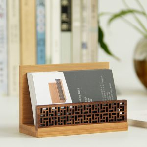 bamboo gift card holder