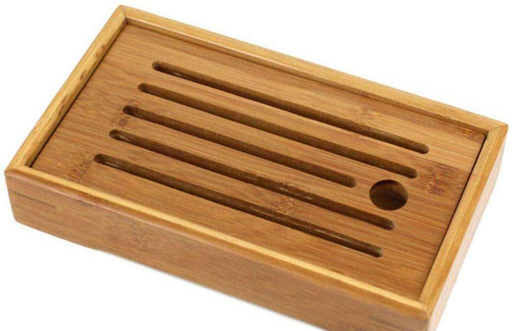 Bamboo tea tray maintenance