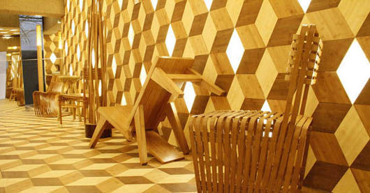 Bamboo furniture structure features