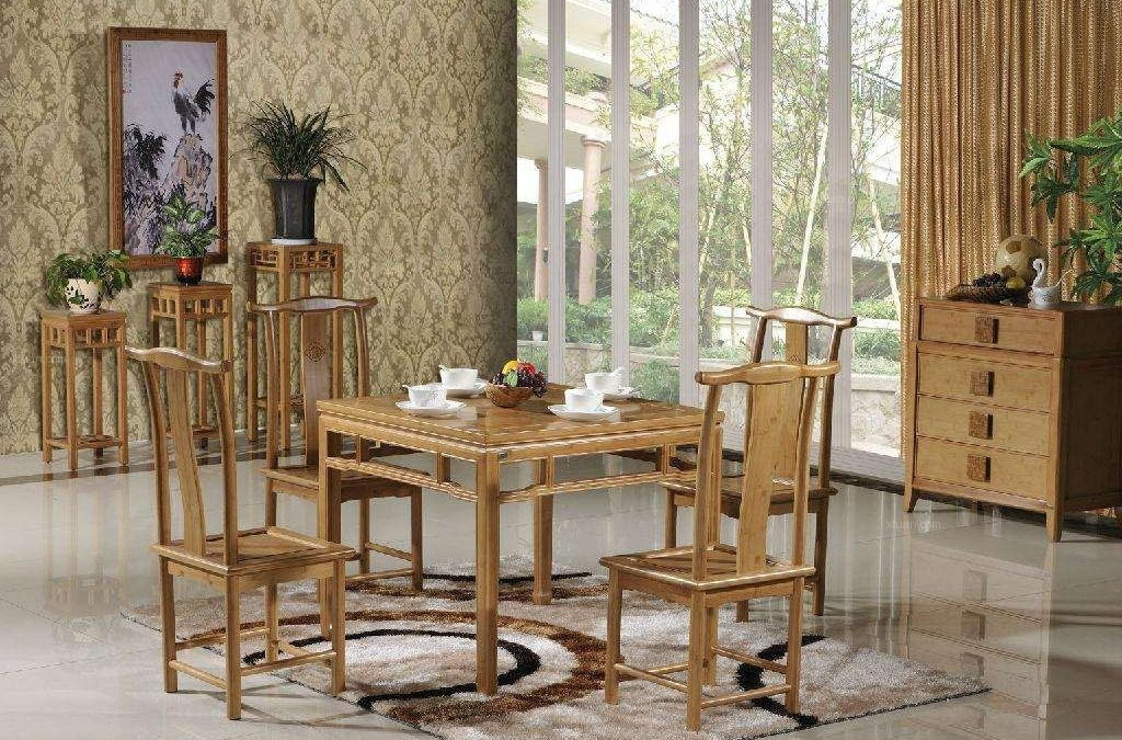Bamboo furniture maintenance method